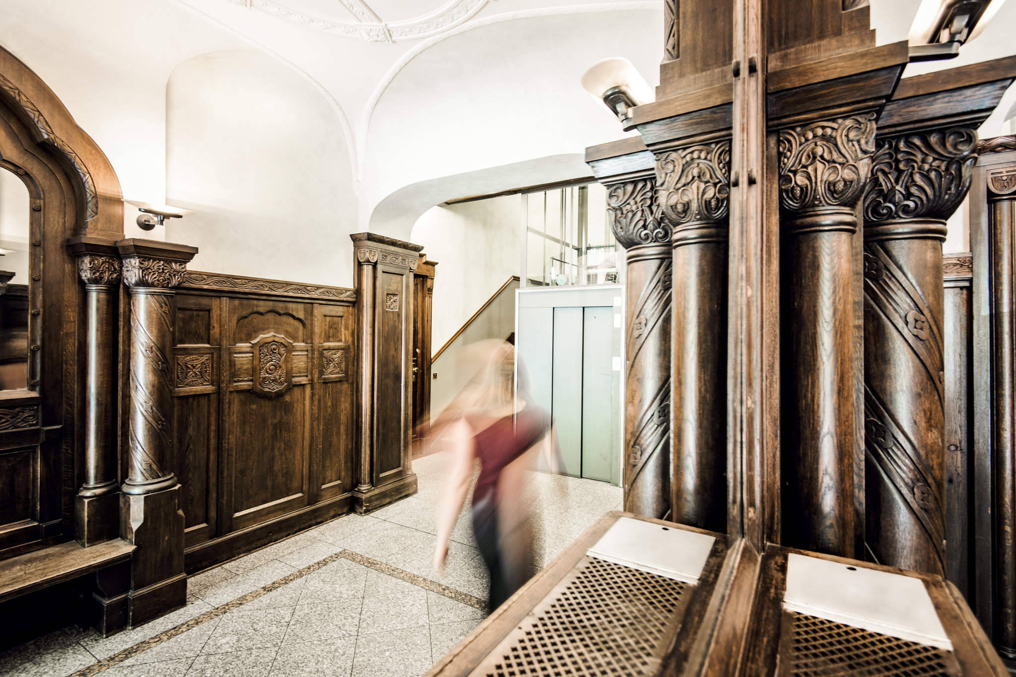 Eingangshalle der Kanzlei